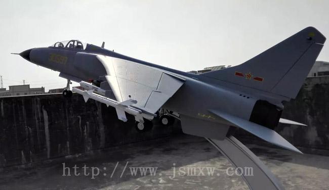 中国飞豹战斗机模型-歼轰7飞机模型-高仿真大比例